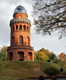 Blick auf den Ernst-Moritz-Arndt Turm